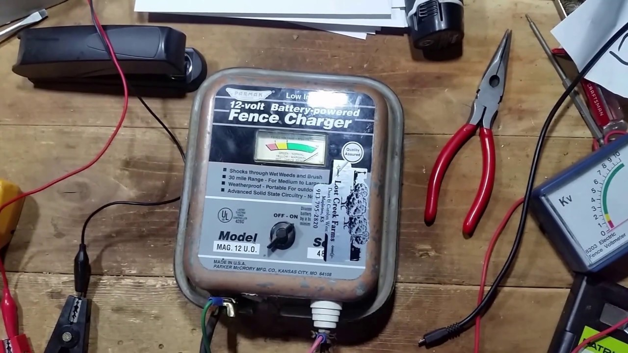 parmak mag 12 fence charger