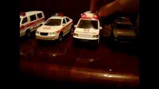 видео Игрушечные служебные машины : Пожарная машина Dickie, 43 см.