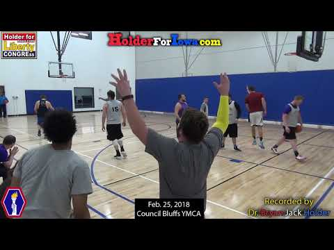 YMCA Basketball- Feb. 25th, 2018- Brownlee