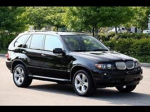 Подержанные Авто BMW X5 E53 First generation (1999--2006) - YouTube