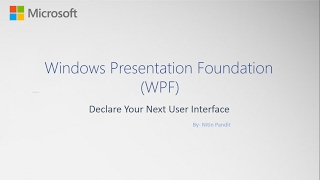 Windows Form Vs WPF Windows