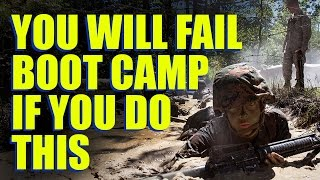 Most People Fail Boot Camp Because of This