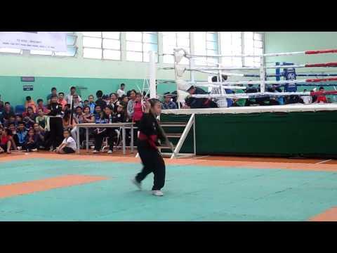 Roi thái sơn nữ cấp 1 giải vô địch học sinh môn võ cổ truyền 2013