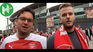 Arsenal fans react to first defeat under Unai Emery against Man City at Emirates Stadium