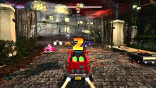 Sonic & Sega All-Star Racing: Roulette Road and Deadly Route (Banjo and Kazooie)