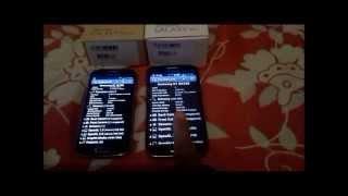 Comparação Galaxy S4 mini duos e Galaxy Win Duos