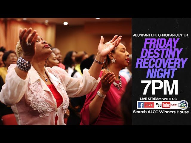 November Destiny Recovery Night   Drs. Festus & Anthonia Adeyeye   ALCC Winners House