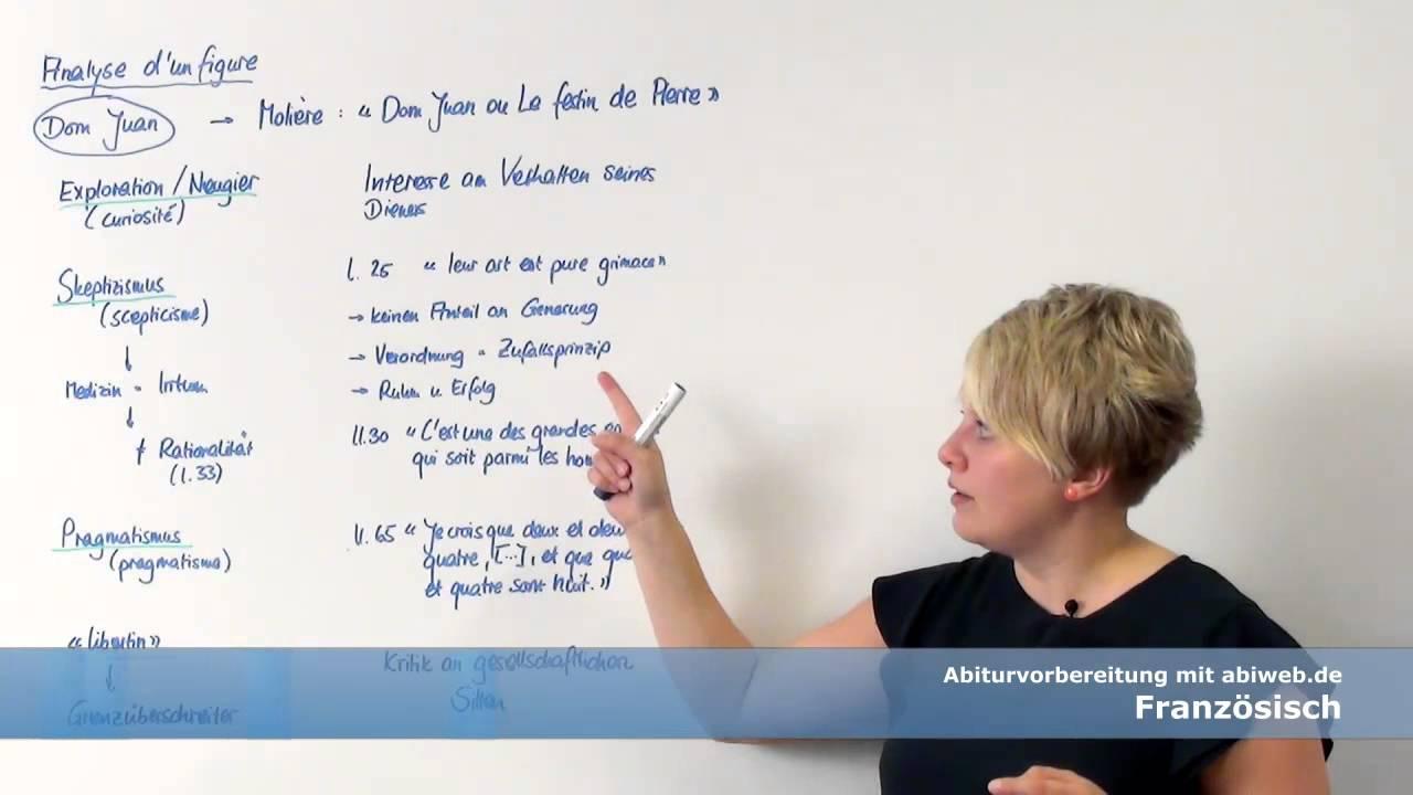 figurenanalyse eines dramas aufbau und beispiel franzsisch abitur - Bildbeschreibung Franzosisch Beispiel
