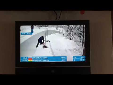 Akwasi Frimpong Skeleton Race ICC- Saint Moritz Jan 2018