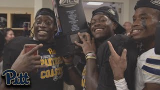 Pitt Celebrates First ACC Coastal Division Title