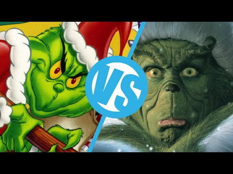 The Grinch 1966 Vs The Grinch 2000 Movie Feuds Ep54