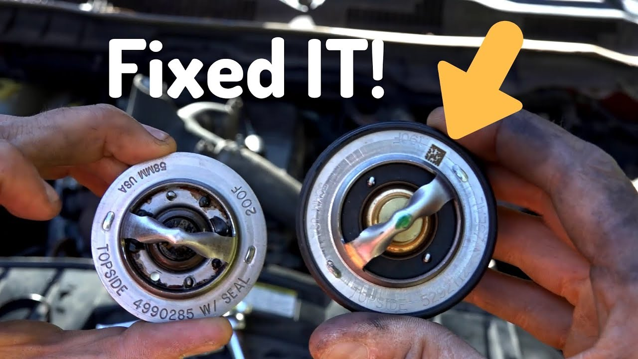How to Replace the Thermostat on a 6.7 Dodge Cummins Truck ...