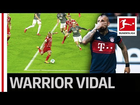 Bayern's Vidal On Fire - 4 Goals in a Row