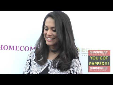 Raquel Pomplun at the Homecoming Premiere at Laemmle's Music Hall in Beverly Hills