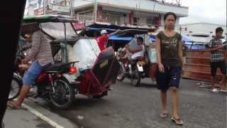 Tricycle Ride In Iba Zambales