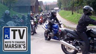 Moto Zlot - [1/2] MNIKÓW 28.09.2013 Jesienne Spotkanie Motocyklistów (przyjazd parady) MARSIK'S TV