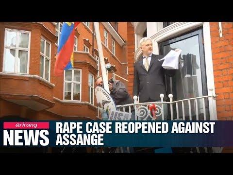 Sweden reopens probe into rape allegation against WikiLeaks founder Julian Assange