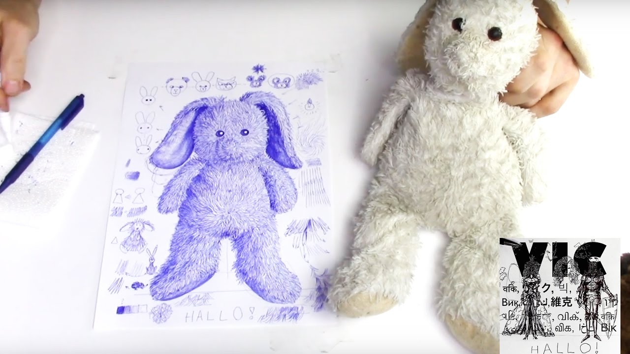 Brittany Stuffed Animal, How To Draw Your Favourite Stuffed Animal Part Ii Fluffy Bunny Kids Illustration Instruction Youtube