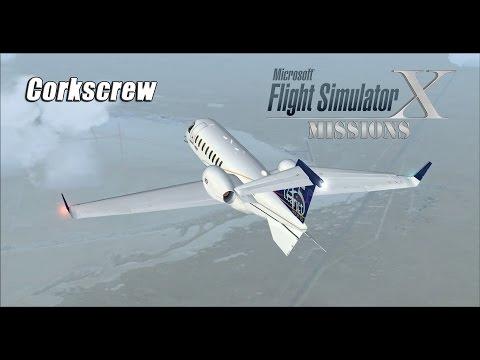 FSX/Flight Simulator X Missions: Corkscrew