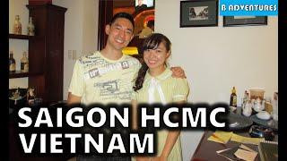 Saigon: A&Em Hotel, Cu Chi Tunnels, Cricket Farm, Vietnam Vlog Ep1