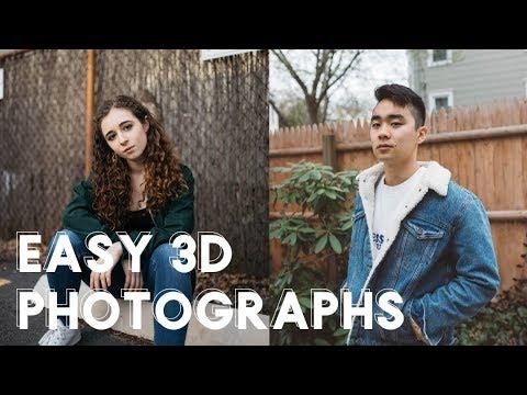 How to Make Easy 3D Photographs Stereoscope Tutorial