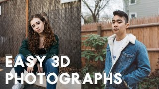 How to Make Easy 3D Photographs Stereoscope Tutorial