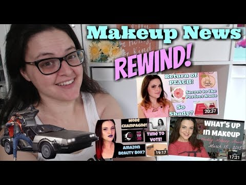 LIVE CHAT: What's Up in Makeup REWIND! New Products May 2015-2017! Are they still POPULAR? - 동영상