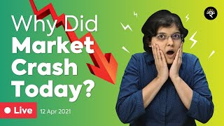 Why did Market crash today? | Explained by CA Rachana Ranade