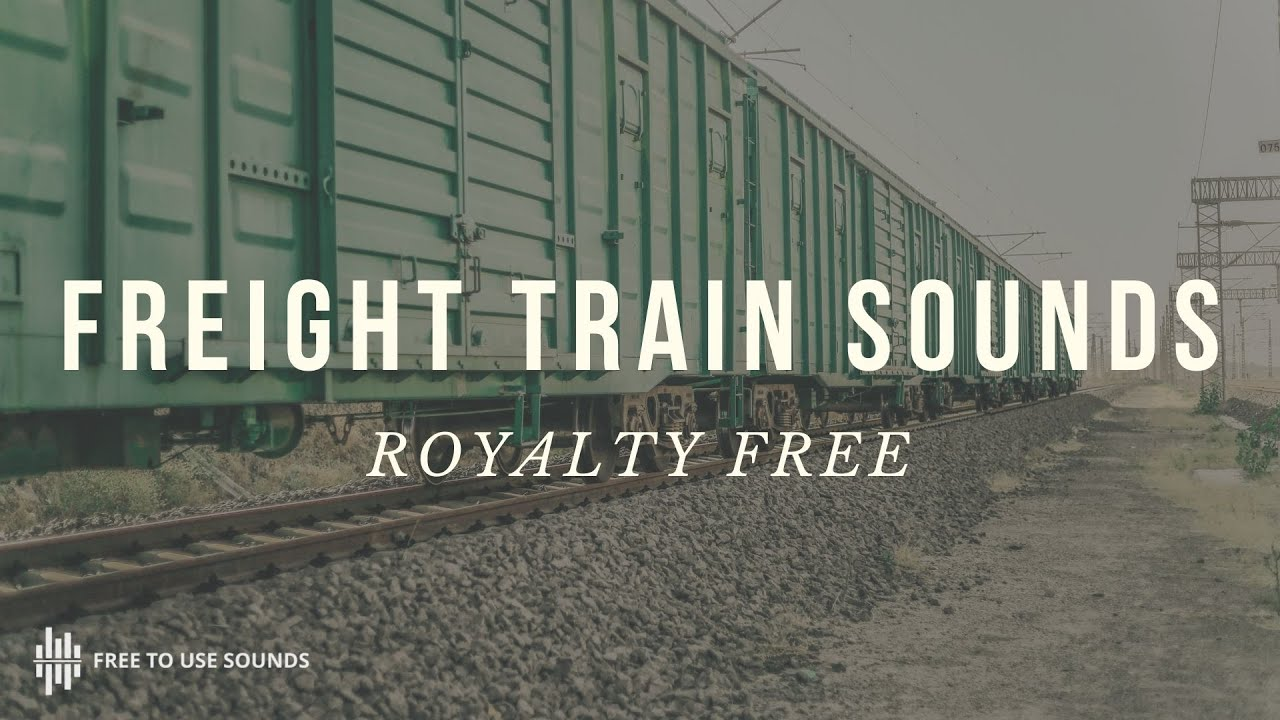Train Sound Effects USA! - Freight & Passenger Trains