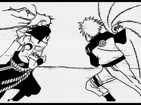 no 621 how to draw chidori vs rasengan 千鳥 vs 螺旋丸 youtube