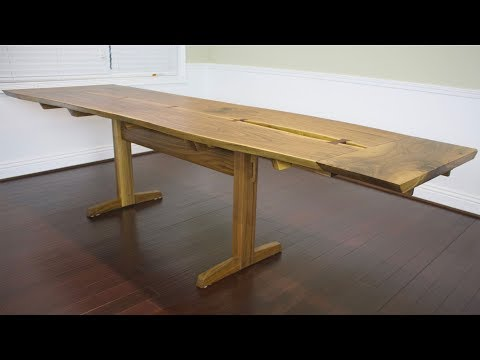 Making A Live Edge Dining Table