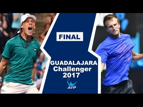 Denis Shapovalov vs Mirza Basic Highlights GUADALAJARA FINAL 2017
