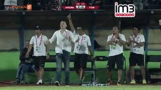 Arema Cronus Vs PSM Makassar [2-0] Highlights TSC 14 Oktober 2016