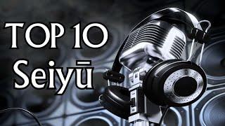 TOP 10 Ulubionych Seiyū męskich i żeńskich