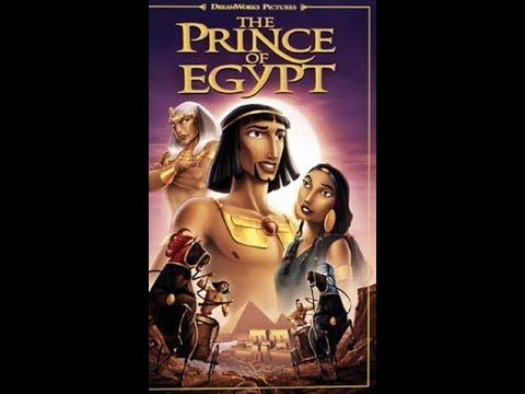 Opening to The Prince of Egypt 1999 VHS