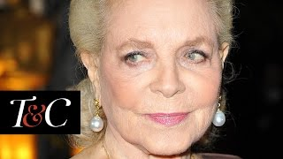 Inside Lauren Bacall's Lavish New York City Apartment | Town & Country