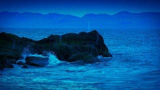 Rain Sounds for Sleep + Ocean Waves 🌊White Noise 10 Hours