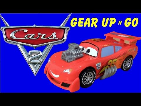 carrinho relampago mcqueen gear up n go disney pixar cars 2 flash