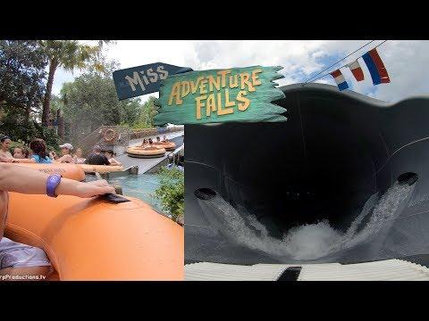 Miss Adventure Falls (4K On-Ride) Typhoon Lagoon - Walt Disney World