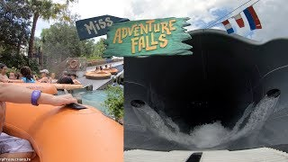 Miss Adventure Falls (4K On-Ride) Typhoon Lagoon - Walt Disney World