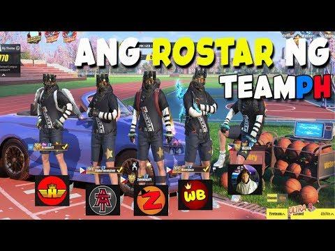 ROS: NAGSAMA SAMA ANG ROSTAR PARA UBUSIN ANG KALABAN!! #TeamPH