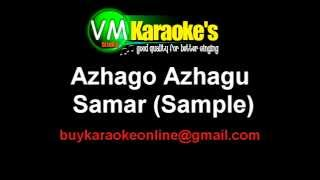 Azhago Azhagu Tamil Karaoke Samar Sample