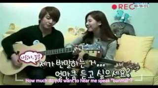 "Jung Yong Hwa ""Banmal Song"" - For First Time Lovers [рус. саб. ""Big Boss""]"