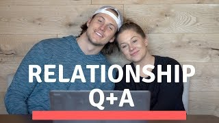 did we live together before marriage? relationship q+a | shawn johnson + andrew east