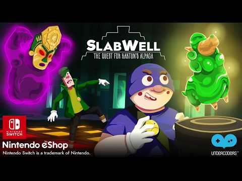 SlabWell - The Quest for Kaktunu0027s Alpaca - Nintendo Switch Reveal Trailer
