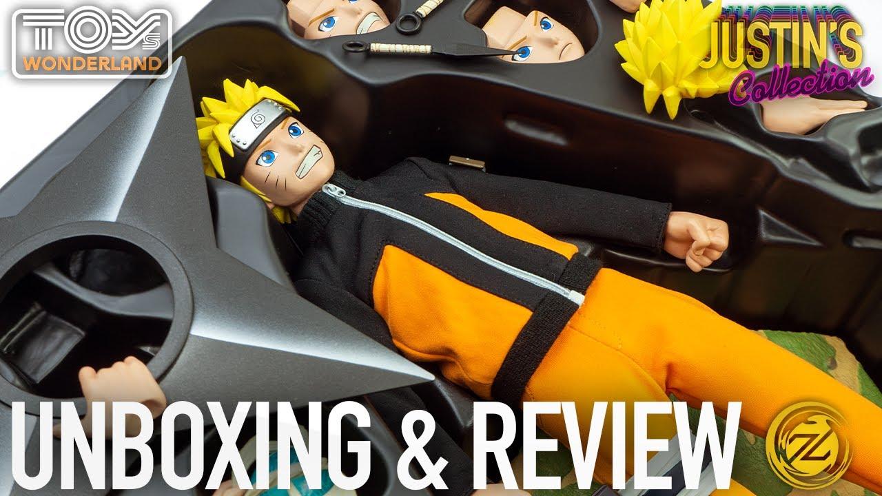 Naruto Uzumaki Shippuden Zen Creations 1/6 Scale Figure Unboxing & Review