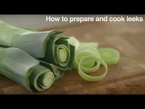 How To Prepare And Cook Leeks