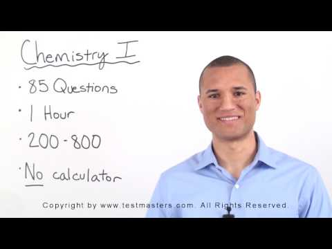 Testmasters SAT Chemistry Subject Test Online Sample Clip - SAT Chemistry