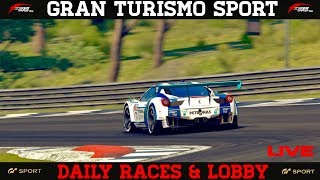 GT Sport - Daily Races & Open Lobby (All Welcome)