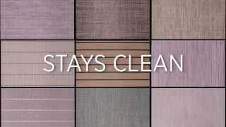 Infinity Woven Vinyl Flooring | Stays Clean